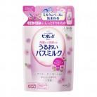 ビオレU バスミルク ミルクローズの香りつめかえ 480ml
