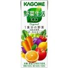 カゴメ 野菜生活100オリジナル 200mL×12個
