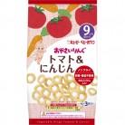 キユーピーおやつ おやさいりんぐ トマト&にんじん (4g×3袋入り)( 9ヵ月頃から)