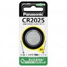 パナソニック コイン形リチウム電池 CR2025 1個入
