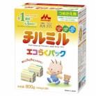 森永  チルミル  エコらくパック  詰め替え用  12ケ月頃から  (400g×2)