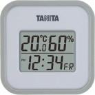 タニタ デジタル温湿度計 TT-558-GY グレー※取り寄せ商品(注文確定後6-20日頂きます) 返品不可