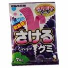 味覚糖 さけるグミグレープ 7枚×10個