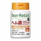 ディアナチュラ ヘム鉄+葉酸、ビタミンB12 30粒