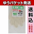 【ゆうパケット送料込み】エコ綿厚手手袋 低学年用 約16cm