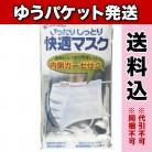 【ゆうパケット送料込み】快適マスク 5枚入※取り寄せ商品(注文確定後6-20日頂きます) 返品不可