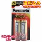 【ゆうパケット送料込み】パナソニック アルカリ電池単3 (2本パック)