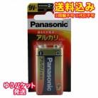 【ゆうパケット送料込み】パナソニック アルカリ電池単9V