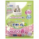 デオトイレ ふんわり香る 消臭・抗菌サンド ホワイトフローラルの香り 3.8L