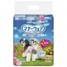 マナーウェア 女の子用 小~中型犬用 Mサイズ 34枚