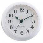 アーテック 丸型時計 ホワイト アラーム付※取り寄せ商品(注文確定後6-15日頂きます) 返品不可