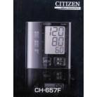 シチズン電子血圧計手首式 CH657F-BK×4個※取り寄せ商品(注文確定後6-20日頂きます) 返品不可