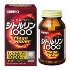 オリヒロ シトルリン MegaPower1000 240粒※取り寄せ商品 返品不可