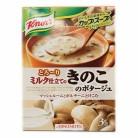 クノール カップスープ ミルク仕立てのきのこポタージュ(3袋入り)