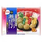 栗山製菓 瀬戸の汐揚 三種のアソート 33枚×10個