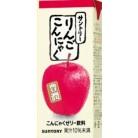 サントリー りんごこんにゃく 250ml(紙パック)×24個※取り寄せ商品(注文確定後6-20日頂きます) 返品不可