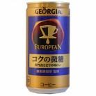 コカコーラ ジョージア ヨーロピアン コクの微糖 185g×30個