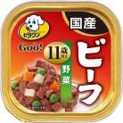 日本ペット ビタワングー 11歳以上 ビーフ&野菜 100g