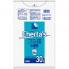 チェルタス45L 白半透明 0.03MM 30枚※取り寄せ商品(注文確定後6-20日頂きます) 返品不可
