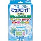 フローラル  ミセスロイド  クローゼット用  3個入  ホワイトアロマ  ソープの香り  1年間有効