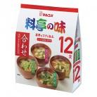 マルコメ 料亭の味 みそ汁 12食×6個