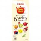 日東紅茶  デイリークラブ  紅茶にこだわった  6バラエティパック  10袋入×6個