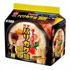 明星食品 チャルメラ バリカタ麺 豚骨 5食×6個