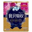 ソフィ kiyora 贅沢吸収 ホワイトフローラル 少し多い用 52枚