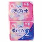 【医薬部外品】ソフィ ボディフィット 羽つき (22枚入×2コパック)