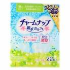 チャームナップ 吸水さらフィ 70cc 長時間快適用 22枚 昼長時間用ナプキンサイズ 23cm (軽い尿モレの方)