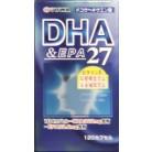 ユーワ DHA&EPA27 120カプセル×2個※取り寄せ商品(注文確定後6-20日頂きます) 返品不可