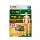 バンテリンコーワサポーター 腰用 男女性用 大きめサイズ(胴囲80-100cm) ブラック 1枚入