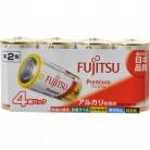 FUJITSU Premium-単2 LR14FP(4S) 4個