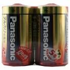 パナソニック アルカリ電池単1 (2本パック)