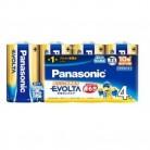 パナソニック エボルタ 電池単1(4本パック)