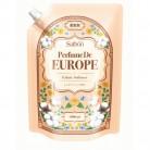 香りサフロン柔軟剤パフュームドヨーロッパ ミュゲコットンの香り大容量 1000ml×2個