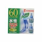 水性キンチョウリキッド60日 無香料緑茶プラス (45ml×2本入)