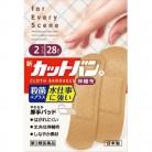 【第3類医薬品】新カットバンA伸縮布2サイズ 28枚
