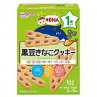 和光堂 1歳からのおやつ +DHA 黒豆きなこクッキー 1歳頃から(2本×6袋)※取り寄せ商品 返品不可