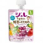 和光堂 1歳からのMYジュレ 1/2食分の野菜とくだもの ぶどう味 70g