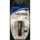 【ポイントボーナス】ファイテン RAKUWA ブレスSDuoBK/レッド 17cm×6個※取り寄せ商品(注文確定後6-20日頂きます) 返品不可