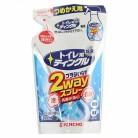 トイレ用 ティンクル 直射・泡 2wayスプレー つめかえ用フローラルの香り 250ml